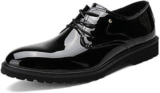 本革 ビジネスシューズ メンズ 革靴 レースアップ 外羽根 軽量 防滑 通気性抜群 カジュアル 通学 通勤 オフィス フォーマル ブラック レッド 24.0cm 24.5cm 25.0cm 25.5cm 26.0cm 26.5cm 27.0cm