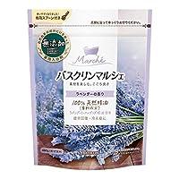 バスクリンマルシェラベンダーの香り 入浴剤 そよ風に揺れる花を想わせるラベンダーの香りの入浴剤 480g×5個