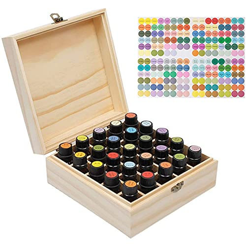 Caja de Almacenamiento de Aceites Esenciales Organizador de Exhibición de Aceites Esenciales...