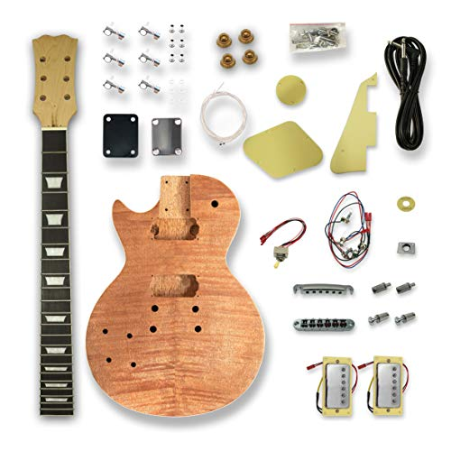 Left-handed Electric Guitar Kits For DIY Electric Guitar, okoume Body