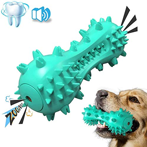 STAJOY Dog Toys Squeaky for Aggressive Chewers and Teeth Cleaning