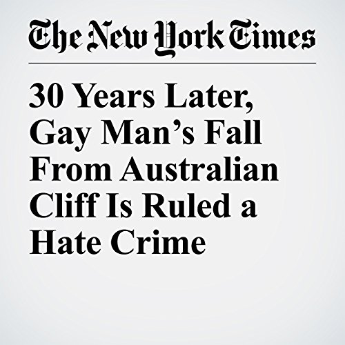 30 Years Later, Gay Man's Fall From Australian Cliff Is Ruled a Hate Crime copertina