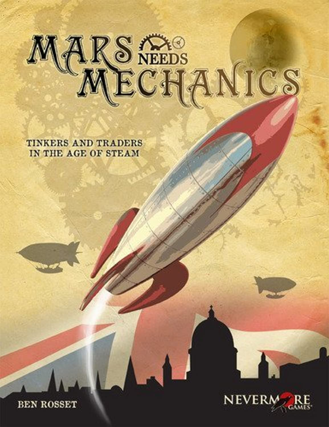 Mars Needs Mechanics Board Game by Nevermore