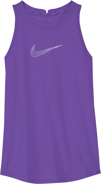 Nike Dri-FIT Trophy Big Kids(Girls) Training Tank DA1370-528 (Wild Berry)
