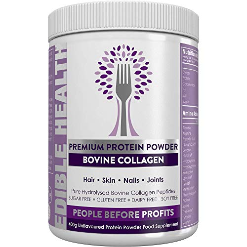 Premium Collagen Powder — Hydrolysed Bovine Collagen Peptides Protein...