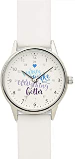 Nurse Mates Women's 1; Strap Nurse Watch Nurses Slogan