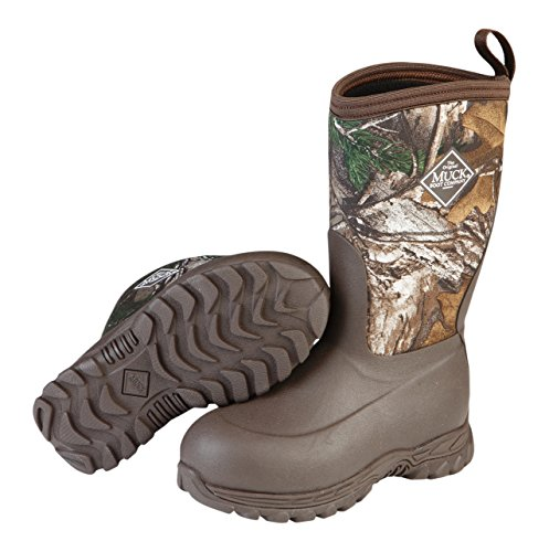 Muck Boot Infants/Toddlers Rugged II Performance Boot RG2,Brown/Realtree Xtra,