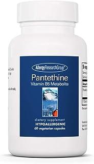 Allergy Research Group - Pantethine - Vitamin B5 Metabolite, Cellular Energy - 60 Vegetarian Capsules