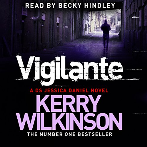 Vigilante audiobook cover art