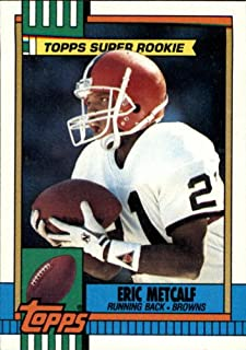 1990 Topps Football Card #157 Eric Metcalf