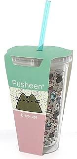Pusheen® Beaker with Straw