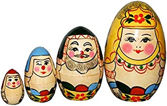 Earl Jay Communications Co., Ltd. Four Sets of Queen-Like Matryoshka Matryoshka Egg [] (Japan Import) by