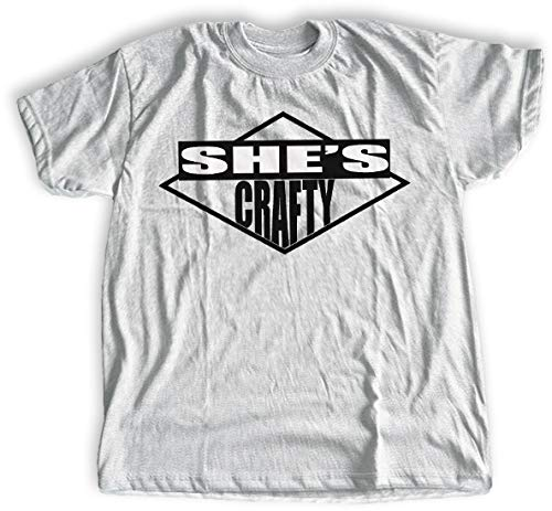 She's Crafty Beastie Boys T-shirt. Sizes for Men, Women and Youth