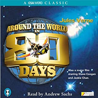 Around the World in 80 Days                   By:                                                                                                                                 Jules Verne                               Narrated by:                                                                                                                                 Andrew Sachs                      Length: 2 hrs and 19 mins     11 ratings     Overall 4.6