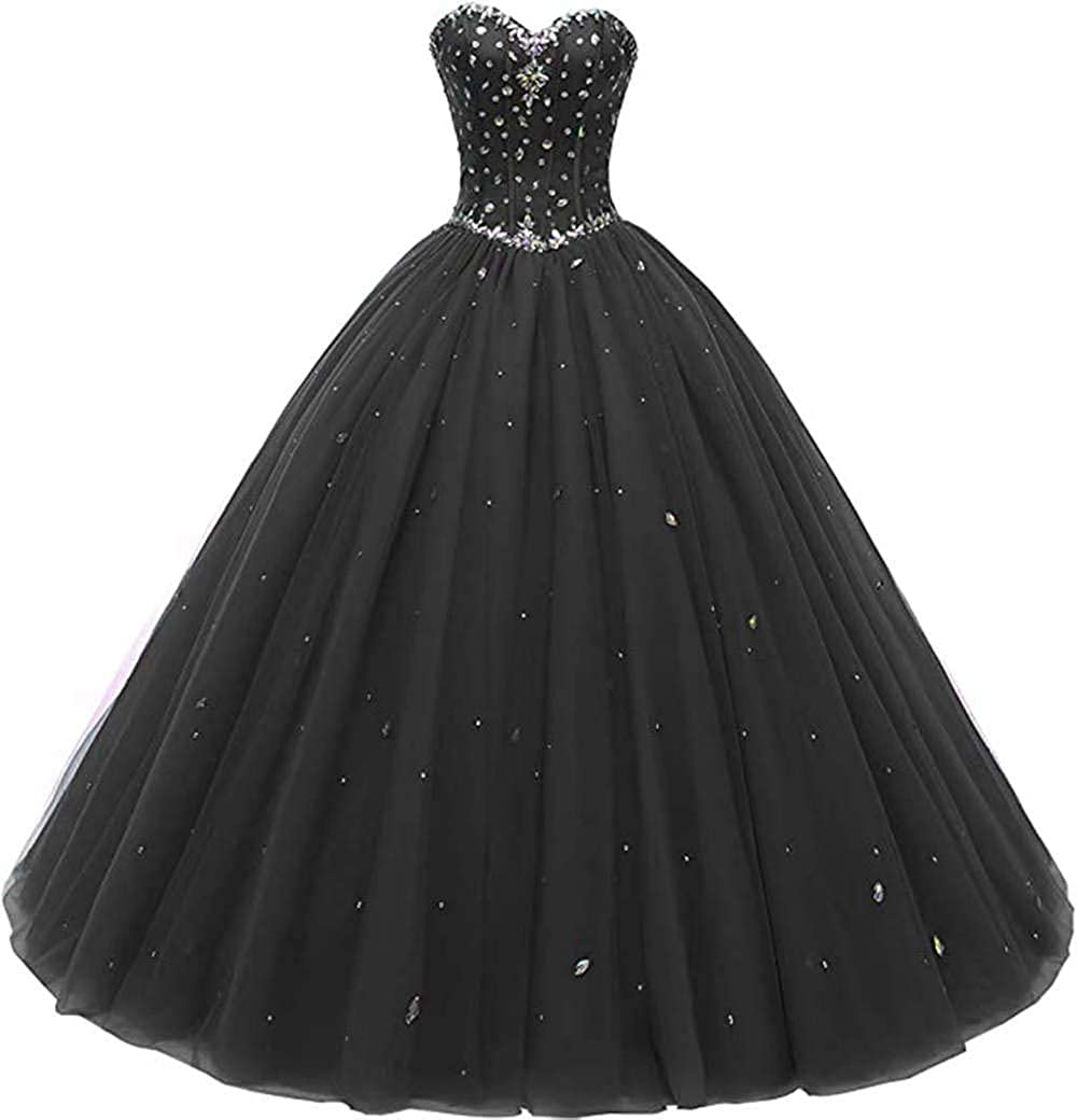 Likedpage Women's Sweetheart Ball 迅速な対応で商品をお届け致します Gown 即日出荷 Quinceanera Dresses Tulle