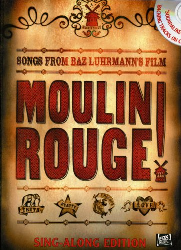 MOULIN ROUGE SING-ALONG (BOOK & CD)