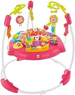 Fisher-Price 费雪跳跳椅 粉色花瓣款 (适用体重:11.3kg以下,适用身高:81cm以下)