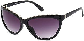 """""""N/A"""" - Gafas De Sol Negras Gafas De Diamante De Señora Moda Tendencia Informal Gafas De Sol De Personalidad Retro Salvajes"""