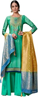 Ethnic Dupatta Royal Wedding Banarasi Dupatta Salwar Kameez Palazzo Formal Indian Muslim Festive Suit Pakistani 7222