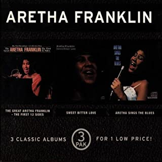 The Great Aretha Franklin/Sweet Bitter Love/Aretha Sings The Blues