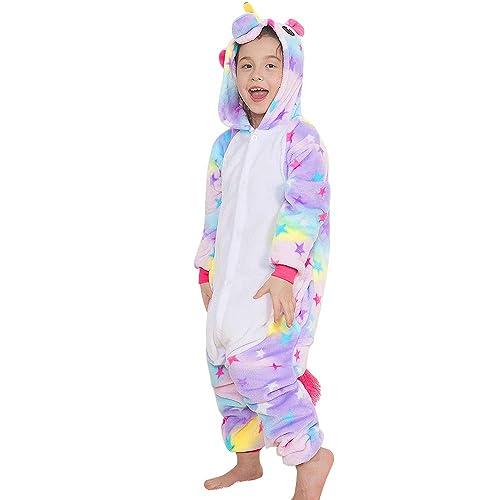 4bc6a268f7 Yansion Unicorn Onesies Pajamas