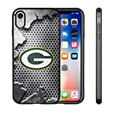 Packers iPhone XR Case, Packers iPhone XR Case Cover Personalized Slim Fit Shockproof Anti-Scratch Shell for iPhone Xr 6.1 Inches