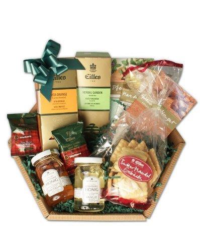 EILLES Tee Geschenkkorb mit Schokolade und Plätzchen