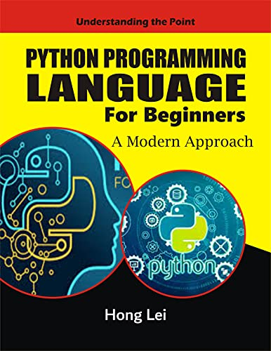 Python Programming Language For Beginners: A Modern Approach Front Cover