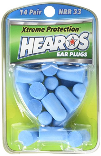 Hearos Ear Plugs Xtreme Protection Series 14 Pairs (Pack of 4)