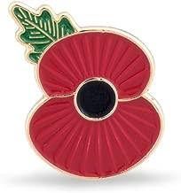 The Royal British Legion Ridge Poppy Lapel Pin
