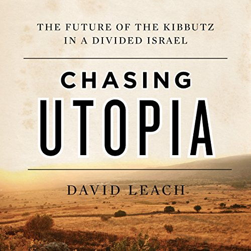 Chasing Utopia audiobook cover art