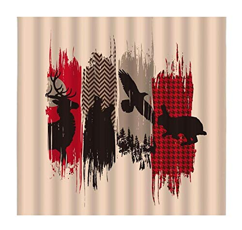 Safari DIY 5D Diamond Paint by Number,Deer Wolf egale Rabbit Silhouette Creative Design Full Drill Painting Arts Craft for Home Wall Decor 16 x 20 inches