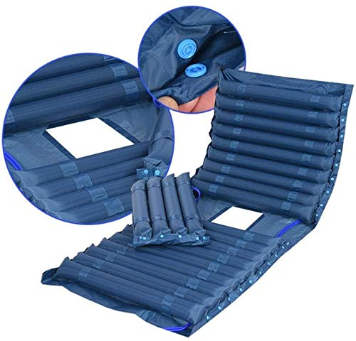 WKDZ Aufblasbare Druckmatratze Körperpositionierer, die das Bettpolster für Druckgeschwüren unterstützen 1217 (Color : Color1, Size : 200x90cm)