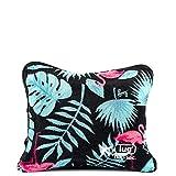 Lug Nap Sac Blanket & Pillow, Flamingo Black, One Size
