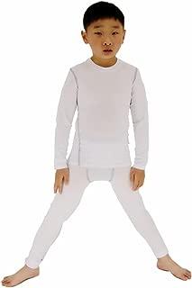 Boys & Girls Long Sleeve Compression Shirts and Pant 2 Pcs Set