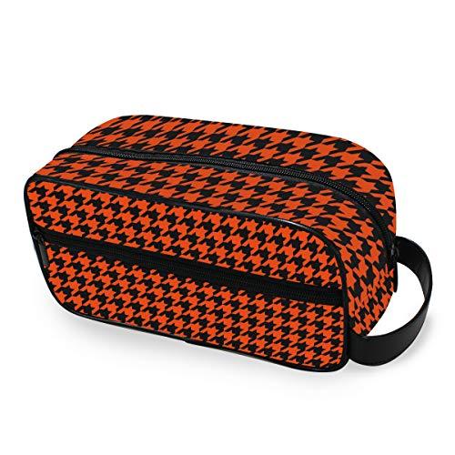 Retro Plover Case Classic Toiletry Bag Travel Cosmetic Bag Portable Makeup Bag Pouch Case Multifunzione Borsa di tela Wash Bag per donne e ragazze