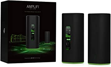 AmpliFi Alien WiFi 6 WiFi System, Seamless Whole Home Wireless Internet Coverage, WiFi Router with Touchscreen Display, 4 ...