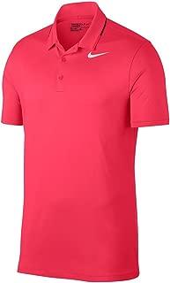 NIKE Icon Elite Golf Polo 2017 Light Fusion Red/Black/White Large