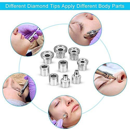 3 in 1 Diamond Microdermabrasion Machine, TopDirect Facial Skin Care Salon Equipment w/Vacuum & Spray