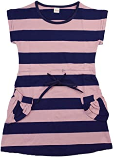 HEETEY Girls Princess Dress  Toddler Baby Girl Kid Striped Princess Dress Casual Clothes Baby Girl Clothing Tops Outfit