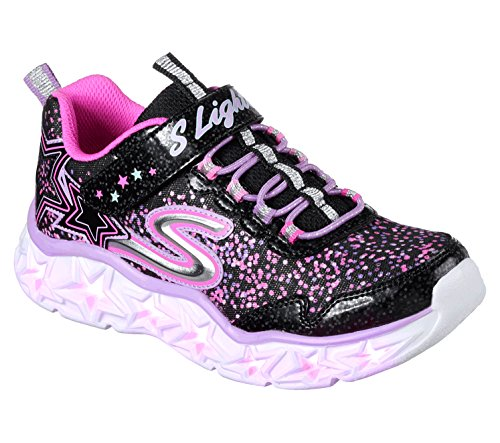 Skechers Kinder Low Galaxy Lights 10920L-BKMT schwarz 408006