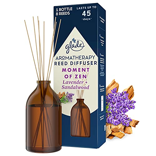Glade Aromatherapy Reed Diffuser, Home Décor Essential Oils Diffuser...