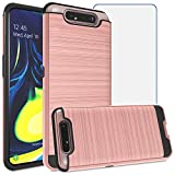 Asuwish Compatible with Samsung Galaxy A80/A90 Case with