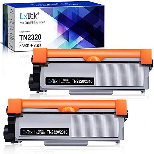 LxTek Compatible Reemplazo para TN2320 TN2310 Cartuchos de tóner para Brother MFC-L2700DN MFC-L2700DW MFC-L2720DW MFC-L2740DW DCP-L2500D DCP-L2520DW DCP-L2540DN DCP-L2560DW HL-L2300D HL-L2360DN