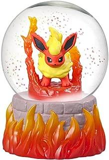 Matching World Pokemon Flareon Snow Slow Life Globe