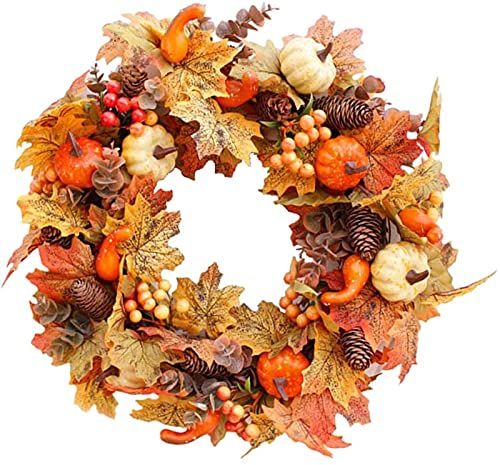 Decoração Outono Outono Colheita Guirlanda Guirlanda Enfeites de Parede de 50 Cm
