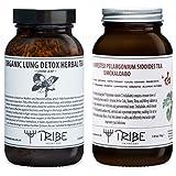 Tribe Skincare Organic Lung Detox & Respiratory Herbal Teas Set