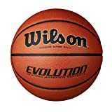 Wilson Evolution Game Basketball, Black, Official Size - 29.5'