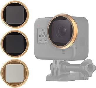 Topiky 3pcs Action Camera Lens Filter Set  Professional ND8 Filter ND1...