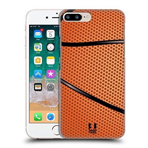 Head Case Designs Baloncesto Colección de Bolas Carcasa rígida Compatible con Apple iPhone 7 Plus/iPhone 8 Plus